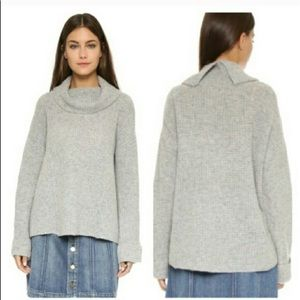 Free People Sidewinder pullover wool sweater Small